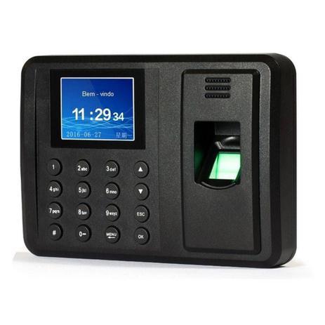 Imagem de Relógio Ponto Biométrico Digital Usb Para Funcionarios Bivolt