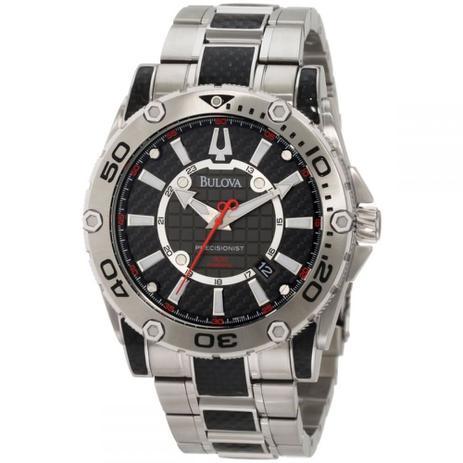 61fd4b62a50 Relógio Precisionist 98b211   Wb31505w Uhf 262 Khz - Bulova ...