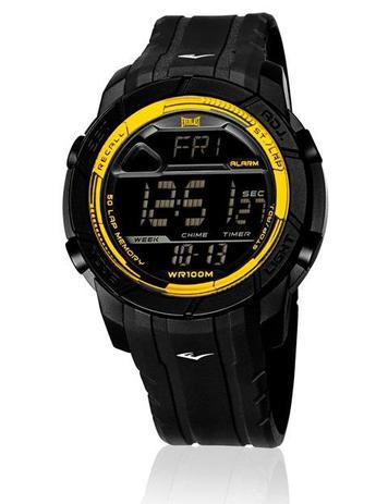 f078ff2d6f6 Relógio Pulso Everlast Action E702 Digital Pulseira Silicone ...