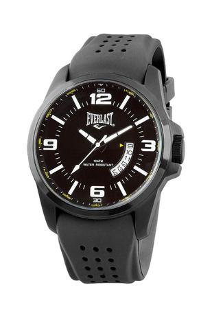 0171b502f95 Relógio Pulso Everlast Caixa Aço Pulseira Silicone E486 - Relógio ...