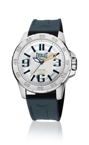 b369ca56910 Relógio Pulso Everlast E698 Caixa Aço E Pulseira Silicone - Relógio ...