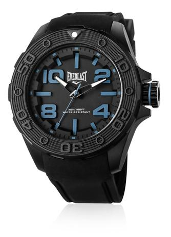 9feacfeadb6 Relógio Pulso Everlast Force Caixa Abs Pulseira Silicone - Relógio ...