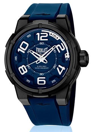 9a8585a5676 Relógio Pulso Everlast Torque Caixa Abs Pulseira Silicone - Relógios ...
