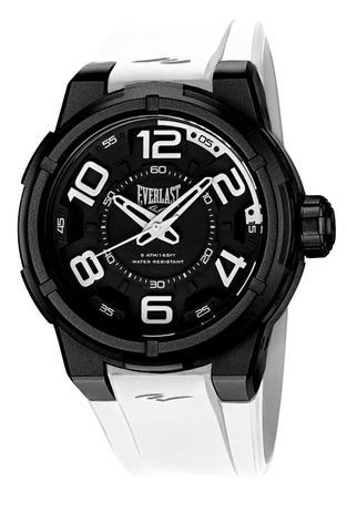 ab7aa11c7d2 Relógio Pulso Everlast Torque E685 Caixa Abs Pulseira Branco ...