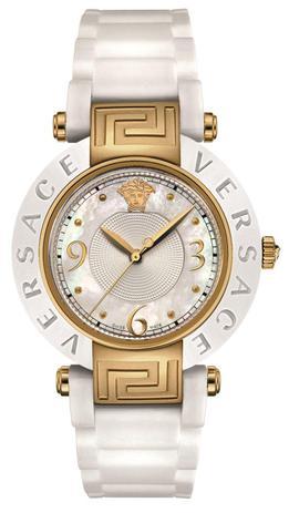 951e0c1063f Relogio Pulso Feminino Versace Caixa Aço Pulseira Silicone - Relógio ...
