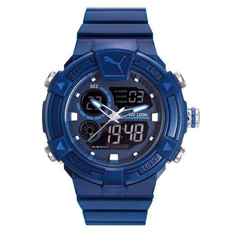 5db478a133f Relógio Puma Masculino - 96290G0PVNP2 - Seculus - Relógio Masculino ...