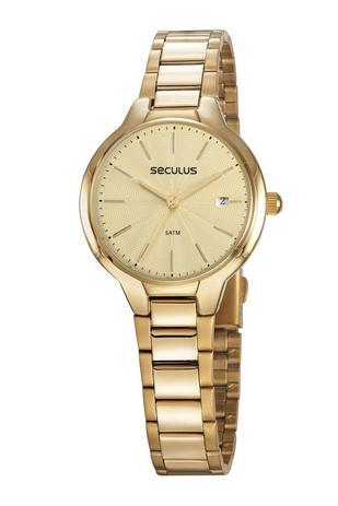 Imagem de Relógio Seculus Feminino 77051LPSVDS1 Dourado