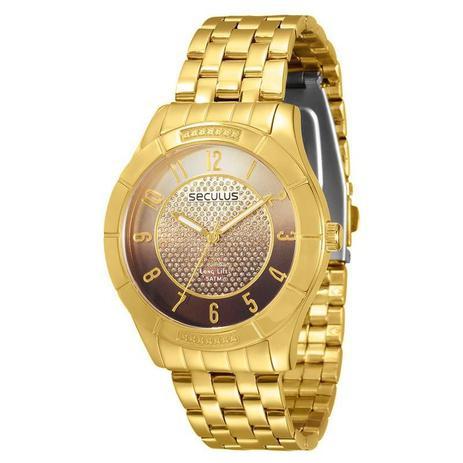 359762b0f5b Relógio Seculus Feminino Long Life - 28420LPSVDA2 - Relógio Feminino ...