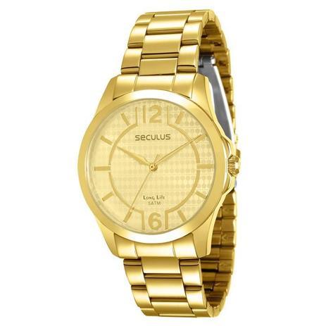 8a8e6b7eea3 Relógio Seculus Feminino Long Life - 28543LPSVDA1 - Relógio Feminino ...