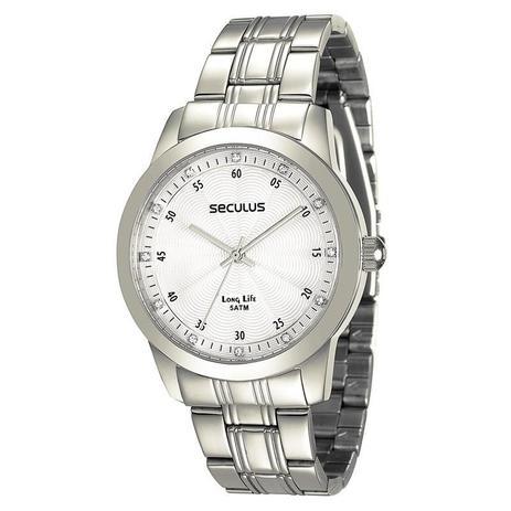 1f2da9161d3 Relógio Seculus Feminino Long Life - 28745L0SVNA2 - Relógio Feminino ...