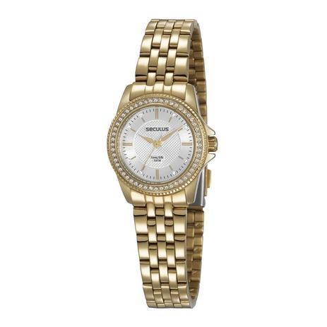 4f684ea7c00 Relógio Seculus Feminino Long Life Analógico 28955LPSVDA1 - Relógio ...