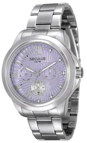 6a46b54c85b Relógio Seculus Feminino Multi Função 28829L0SVNS3 - Relógio ...