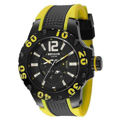 3d3dcb65d28 Relógio Seculus Masculino - 20105GPSSPU3 - Relógio Masculino ...