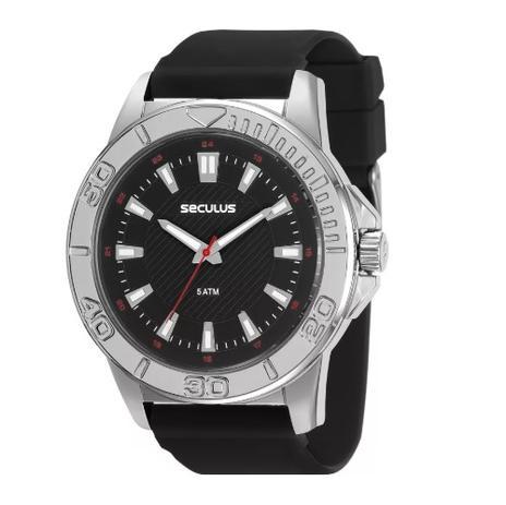 c141cb07e68 Relógio Seculus Masculino 23611G0SVNI1 - Relógio Masculino ...