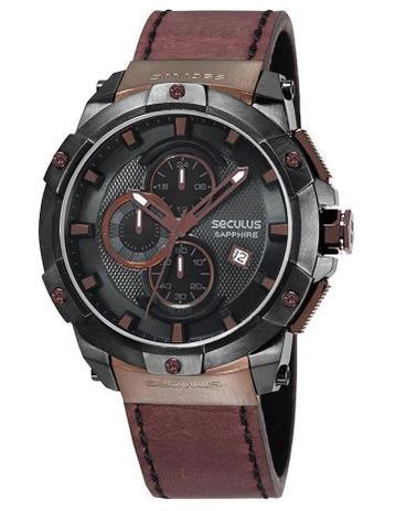 Imagem de Relógio Seculus Masculino Cronografo 13026GPSVSC2