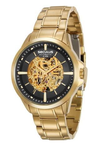 Relógio Seculus Masculino Esqueleto Automático 20552GPSVDA1 ... 9f34c94db0