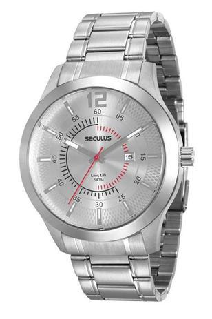 Imagem de Relógio seculus masculino prata 20493g0svna2