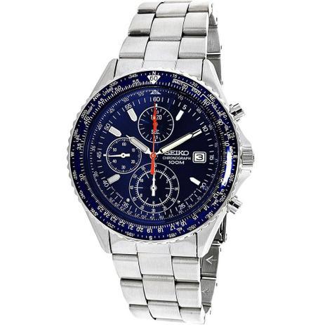 7c4805bdcb6 Relógio Seiko Chronograph Tachymeter SND255 - Relógios ...