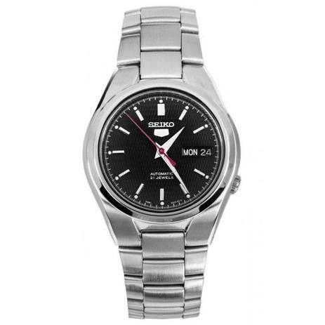 67eea3f6434 Relógio Seiko Feminino Automático Prateado SNK607B1P1SX - Relógio ...
