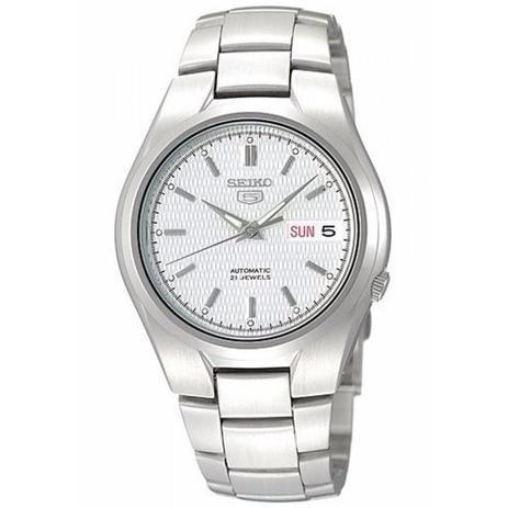 1545941fde3 Relógio Seiko Masculino Automático Prata SNK601B1S1SX - Relógio ...