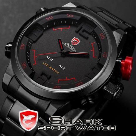25e57a6fc92 Relógio Shark Modelo SH105 - Relógio Masculino - Magazine Luiza