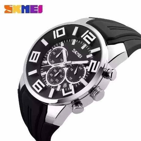 9806ba4fce Relógio Skmei Masculino Prova Dágua Mod. 9128 Lançamento - Relógio ...