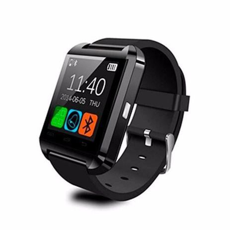 2eb93611644 Relógio Smart Watch U8 Bluetooth Android Samsung Motorola LG Sony Smartwatch  - Willhq