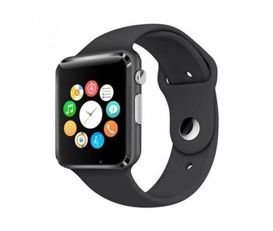 Relogio Smartwatch A1 Original Touch Bluetooth Gear Chip Black Black