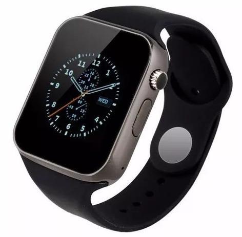 64c8c0d5169 Relógio SmartWatch Inteligente Bluetooth A1 Preto - Smart watch ...