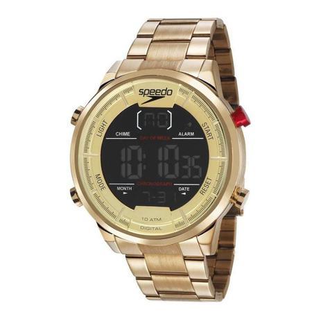 052be4c385a Relógio Speedo Masculino Digital 15005GPEVDS1 Dourado - Relógio ...