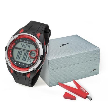 6e6b494f41e Relógio Speedo Masculino Ref  81148g0evnp1 Esportivo Digital + Pen Drive