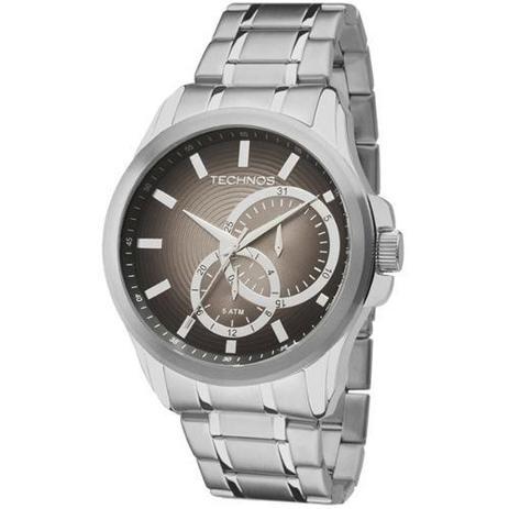 Relógio Technos Classic Grand Tech Analógico Masculino 6p22ad 1p ... ca264f7239