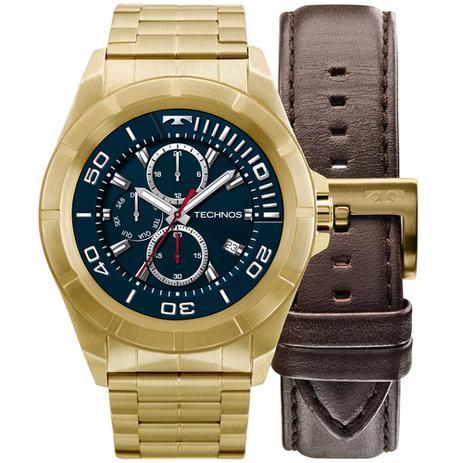 2313aad7f0e Relógio Technos Connect Smartwach Masculino Srab 4p