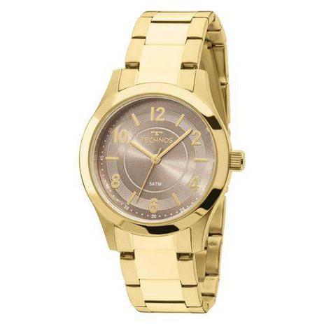4d6115db29f98 Relógio Technos Dourado Feminino Elegance Boutique 2035mft 4m ...