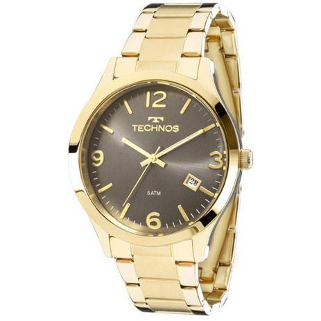 bd27cf9ba0e Relógio Technos Dourado Feminino Elegance Dress 2315acd 4c - Relógio ...