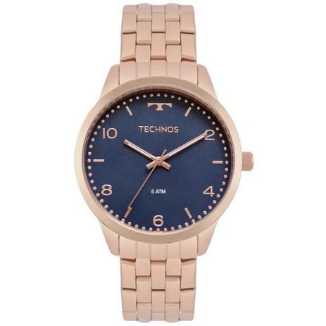 e5fe2cc313537 Relógio Technos Dress Rose Feminino 2035MPK 4A - Relógio Feminino ...