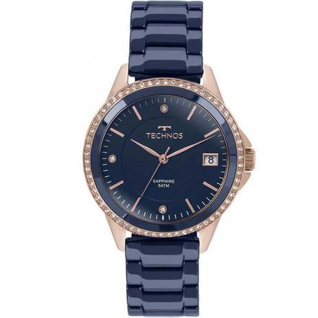 8d945328d4ca7 Relógio Technos Elegance Ceramic Sapphire 2315KZT 4A - Relógio ...