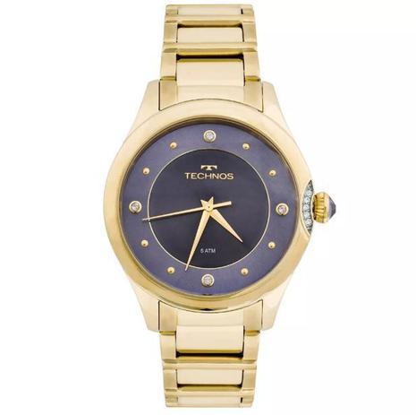 afd24a44e2a Relógio Technos Elegance Crystal Swarovski Feminino 2035MFR 4A ...