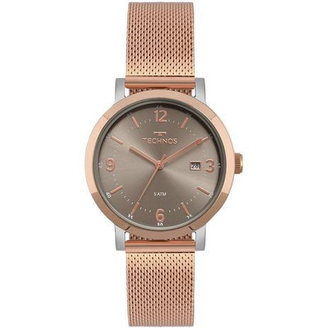 855986043f5 Relógio Technos Elegance Dress Rose Feminino 2115MPF 4C - Relógio ...