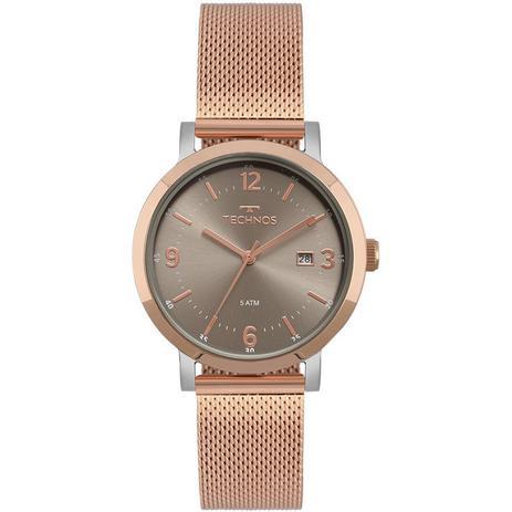 Relógio Technos Elegance Dress Rose Feminino 2115MPF 4C - Relógio ... 4829d536ba
