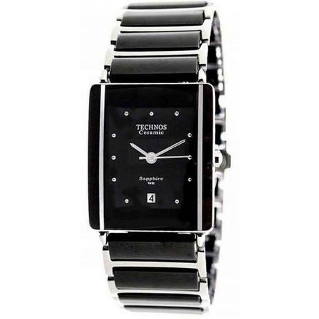 5275f0c48f810 Relógio Technos Feminino Analógico Cerâmica Preto 1N12ACPAI 1P ...