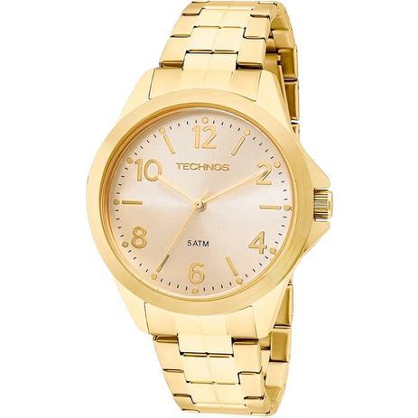 e32036eb51b Relógio Technos Feminino Analógico Dourado 2035MEK 4X - Relógio ...