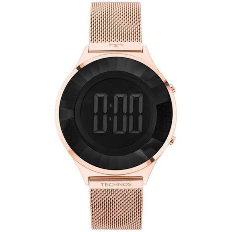 dc0a9599224 Relógio Technos Feminino Digital Rosê Bj3572ad 4p - Relógio Feminino ...
