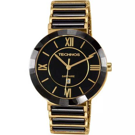 6a11dff55d54d Relógio Technos Feminino Elegance Ceramic Sapphire Analógico 2015BV ...