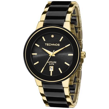 Relógio Technos Feminino Elegance Ceramic Sapphire Analógico 2115KRS ... d01685a4e2