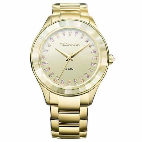 af59d59967228 Relógio Technos Feminino Elegance Crystal Swarosvski 2035ltv ...
