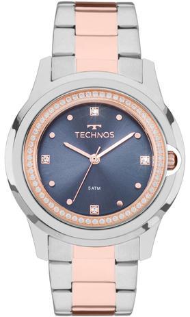 Relógio Technos Feminino Elegance Crystal Swarovski Analógico 2035MLI 5A 4775a4e88d