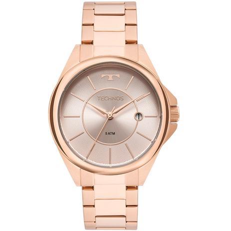 Relógio Technos Feminino Elegance Dress Rosé 2115MOP 4C - Relógio ... 2b8f364732