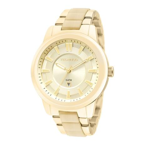 3f338e32c0c Relógio Technos Feminino Fashion Unique Analógico 2015BZK 4D ...