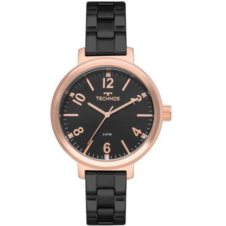 56ef1829880 Relógio Technos Feminino Ref  2035mmu 4p Casual Bicolor - Relógio ...